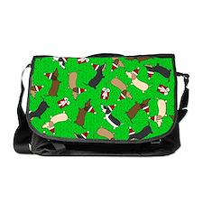 Merry Dachshunds Messenger Bag