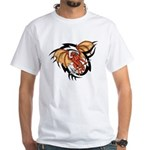 Winged Devil Tattoo White T-Shirt