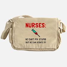 Nurses Sedated Messenger Bag