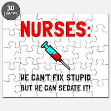 Nurses Sedated Puzzle