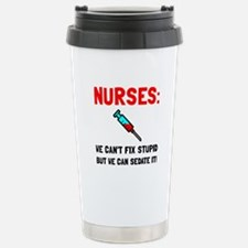 Nurses Sedated Travel Mug