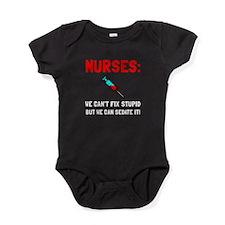 Nurses Sedated Baby Bodysuit