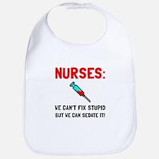 Nurses Sedated Bib