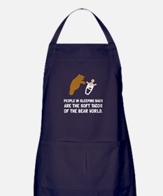 Soft Tacos Bear Apron (dark)