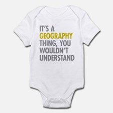 Its A Geography Thing Onesie