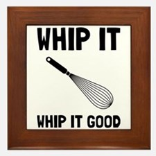 Whip It Good Framed Tile