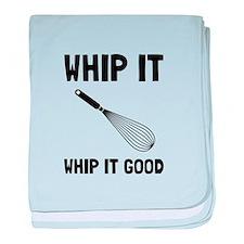 Whip It Good baby blanket