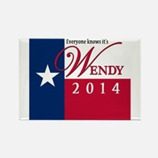 Wendy for Governor of Texas Magnets