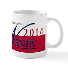 Wendy for Governor of Texas Mugs