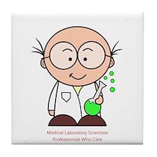 Medical Scientist Tile Coaster