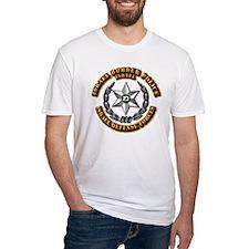 Israel - Green Border Police Hat Ba Shirt