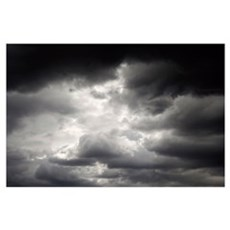 Mexico, Storm Clouds Poster