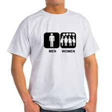 men women bathroom T-Shirt