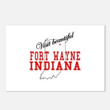 Visit Beautiful Fort Wayne, I Postcards (Package o
