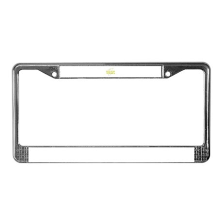 Visit Beautiful South Bend, I License Plate Frame