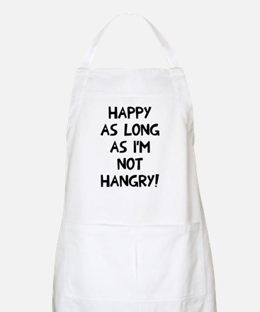 Happy as long as no hangry Apron