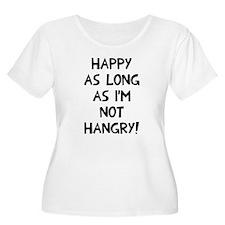 Happy as long T-Shirt