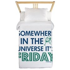 Cute Quips and quotes Twin Duvet