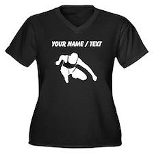 Custom Hurdler Plus Size T-Shirt