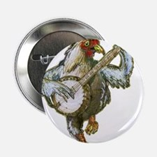 "Cute Cute chickens 2.25"" Button"