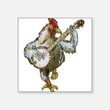 Banjo Chicken Sticker