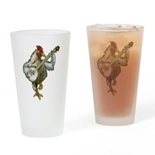 Cute Cute chicken Drinking Glass