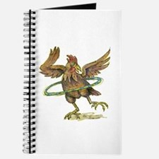 Cute Rooster and hen kitchen Journal