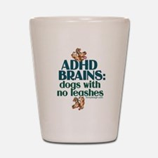 Funny Attention deficit disorder Shot Glass