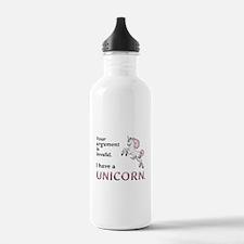 Unicorn Argument Water Bottle