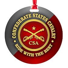 CSC-Confederate States Cavalry Ornament