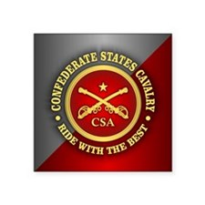 CSC-Confederate States Cavalry Sticker