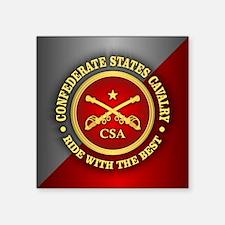 CSC-Confederate States Cavalry Sticker