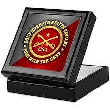 CSC-Confederate States Cavalry Keepsake Box