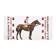 Seabiscuit Beach Towel