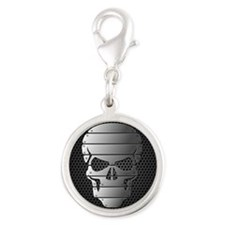 Chrome Skull Charms