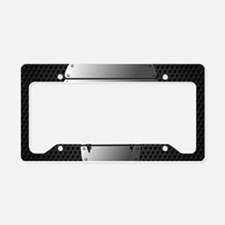 Chrome Skull License Plate Holder