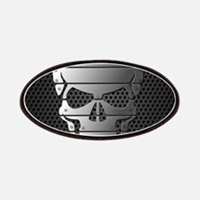 Chrome Skull Patches