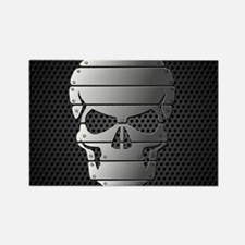 Chrome Skull Magnets