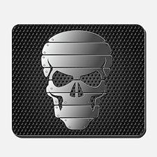 Chrome Skull Mousepad