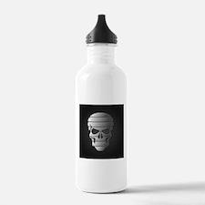 Chrome Skull Water Bottle