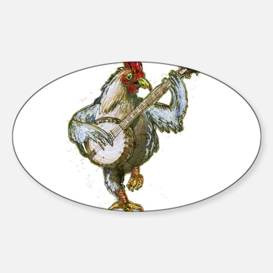 Banjo Chicken Decal