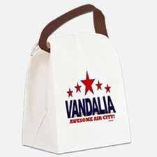 Vandalia Awesome Air City Canvas Lunch Bag