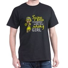 -Spina Bifida Combat Girl 1D T-Shirt