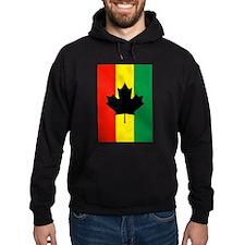 Rasta Reggae Maple Leaf Flag Hoody
