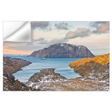 Sunset, North Coast Of Labrador With Arctic Cruise Wall Decal