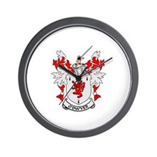 O'DWYER Coat of Arms Wall Clock
