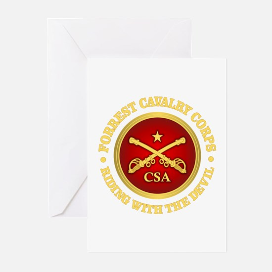 CSC-Forrest Cavalry Greeting Cards