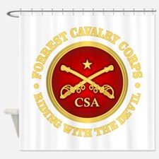 CSC-Forrest Cavalry Shower Curtain