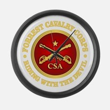 CSC-Forrest Cavalry Large Wall Clock