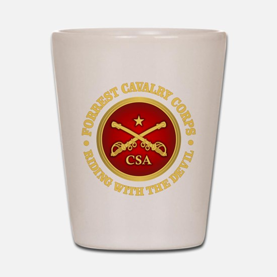 CSC-Forrest Cavalry Shot Glass